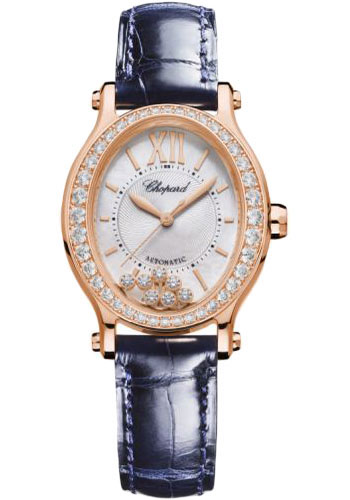 Chopard Watches - Happy Sport Oval - Rose Gold - Style No: 275362-5002