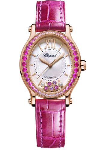 Chopard Watches - Happy Sport Oval - Rose Gold - Style No: 275362-5003