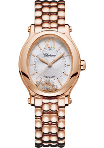 Chopard Watches - Happy Sport Oval - Rose Gold - Style No: 275362-5004