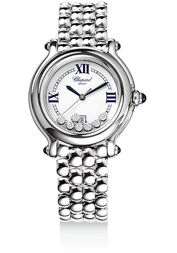 Chopard Watches - Happy Sport Round Classic - Style No: 278236-3005