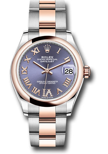 Rolex Watches - Datejust 31 Steel and Everose Gold - Domed Bezel - Oyster - Style No: 278241 aubdr6o