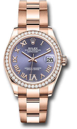 Rolex Watches - Datejust 31 Everose Gold - Diamond Bezel - Oyster Bracelet - Style No: 278285RBR aubdr6o