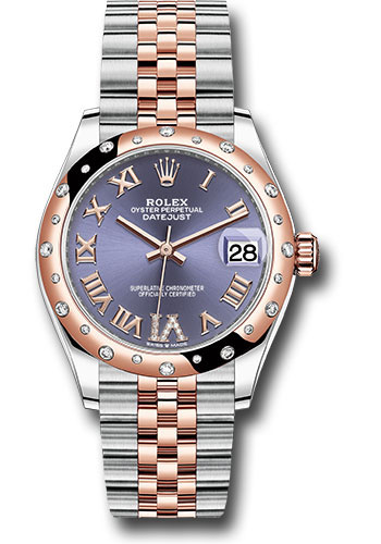 Rolex Watches - Datejust 31 Steel and Everose Gold - 24 Dia Bezel - Jubilee - Style No: 278341RBR aubdr6j