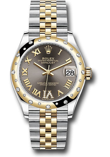 Rolex Watches - Datejust 31 Steel and Yellow Gold - 24 Dia Bezel - Jubilee - Style No: 278343 dkgdr6j