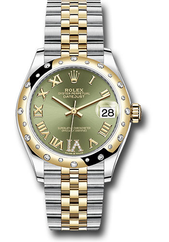 Rolex Watches - Datejust 31 Steel and Yellow Gold - 24 Dia Bezel - Jubilee - Style No: 278343 ogdr6j