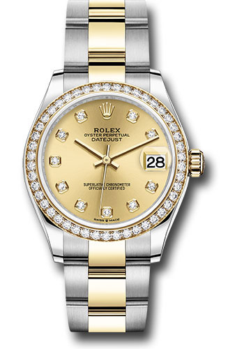 Rolex Watches - Datejust 31 Steel and Yellow Gold - 46 Dia Bezel - Oyster - Style No: 278383RBR chdo