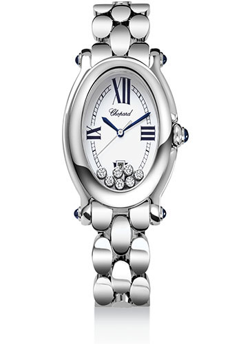 Chopard Watches - Happy Sport Oval Stainless Steel - Style No: 278418-3002