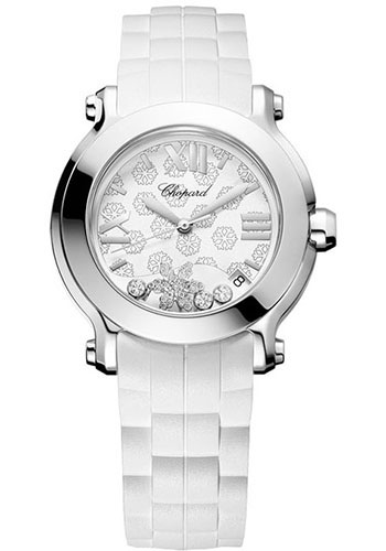 Chopard Watches - Happy Sport Happy Snowflake - Style No: 278475-3015