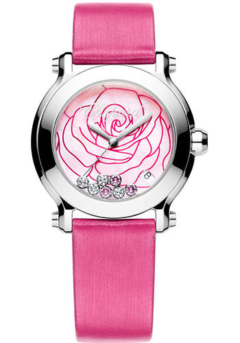 Chopard Watches - Happy Sport La Vie en Rose - Style No: 278475-3029