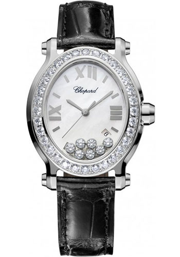 Chopard Watches - Happy Sport Oval Stainless Steel - Style No: 278546-3002
