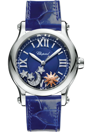 Chopard Watches - Happy Sport Sun Moon And Stars - Style No: 278559-3011