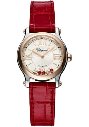Chopard Watches - Happy Sport Round - 30mm - Rose Gold - Style No: 278573-6026
