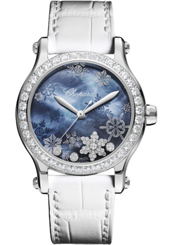 Chopard Watches - Happy Sport Happy Snowflakes - Style No: 278578-3001