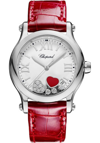 Chopard Watches - Happy Sport Happy Hearts - Style No: 278582-3005