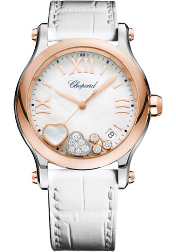 Chopard Watches - Happy Sport Happy Hearts - Style No: 278582-6009
