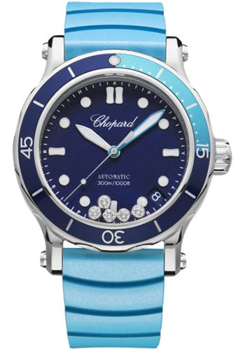 Chopard Watches - Happy Sport Happy Ocean - Style No: 278587-3001