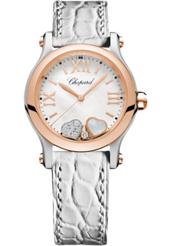 Chopard Watches - Happy Sport Happy Hearts - Style No: 278590-6005