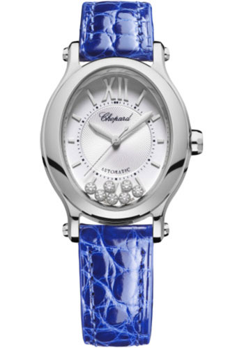 Chopard Watches - Happy Sport Oval - Stainless Steel - Style No: 278602-3001