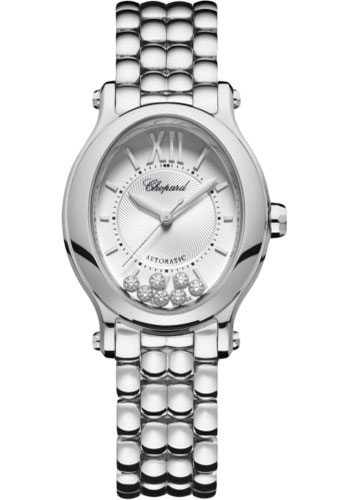 Chopard Watches - Happy Sport Oval - Stainless Steel - Style No: 278602-3002