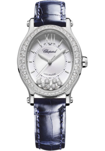 Chopard Watches - Happy Sport Oval - Stainless Steel - Style No: 278602-3003