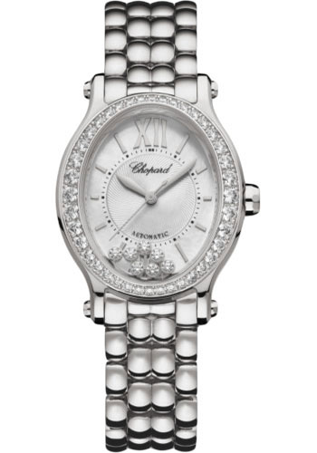 Chopard Watches - Happy Sport Oval - Stainless Steel - Style No: 278602-3004