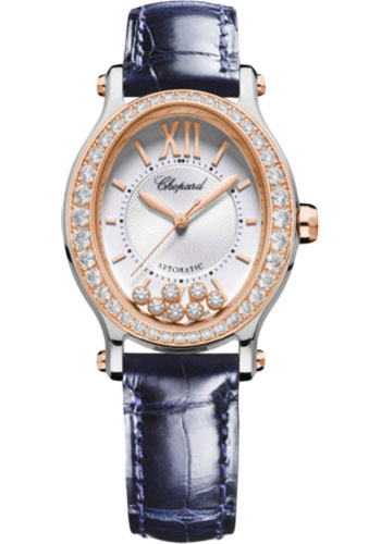 Chopard Watches - Happy Sport Oval - Steel and Rose Gold - Style No: 278602-6003