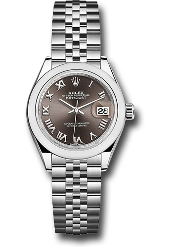 Rolex Watches - Datejust Lady 28 Stainless Steel - Domed Bezel - Jubilee - Style No: 279160 dgrj