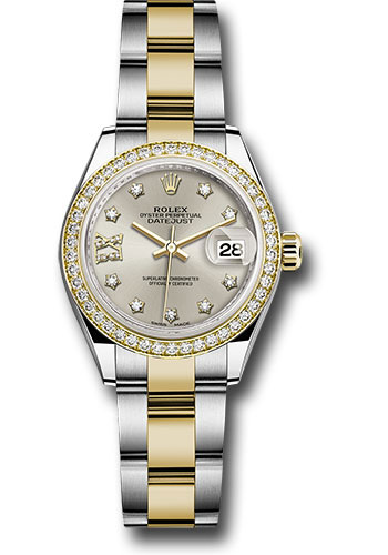 Rolex Watches - Datejust Lady 28 Steel and Yellow Gold - Diamond Bezel - Oyster - Style No: 279383RBR s9dix8do