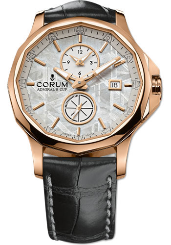 Corum Watches - Admiral Legend 42 mm - Meteorite Dual Time - Style No: A283/02034 - 283.101.55/0001 PX34