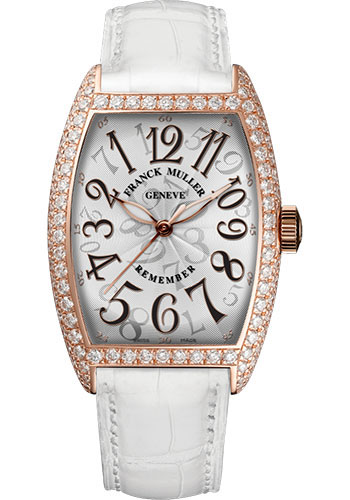Franck Muller Watches - Cintre Curvex - Remember - 31 mm - Style No: 2850 B SC AT REM D White White