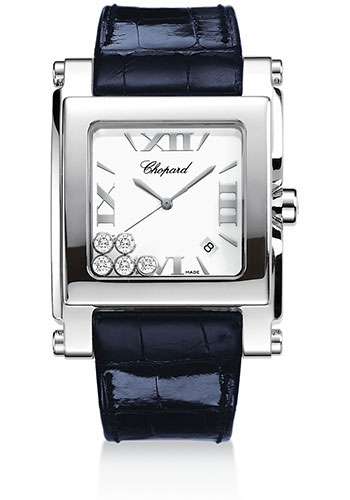 Chopard Watches - Happy Sport Square Extra Large - Style No: 288447-3001