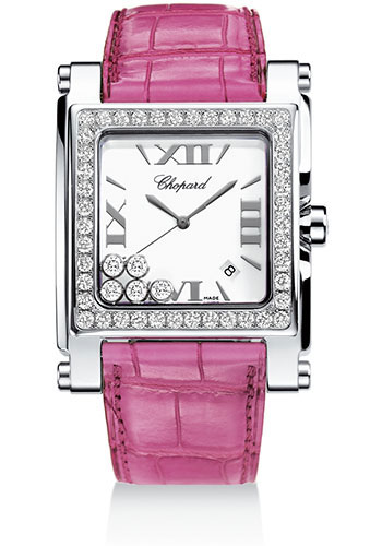 Chopard Watches - Happy Sport Square Extra Large - Style No: 288448-2001