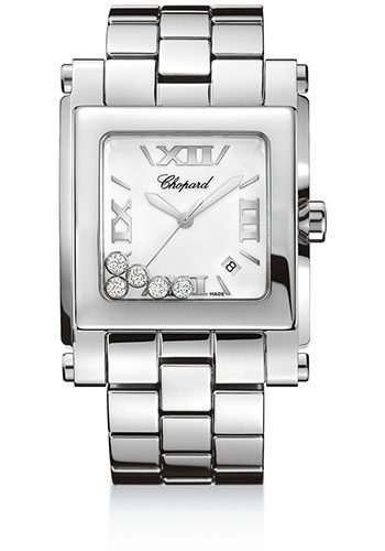 Chopard Watches - Happy Sport Square Extra Large - Style No: 288467-3001
