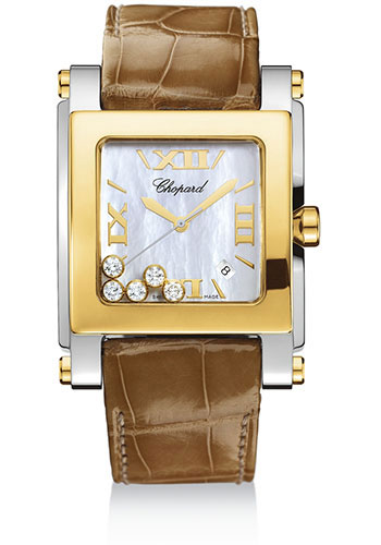 Chopard Watches - Happy Sport Square Extra Large - Style No: 288471-4001