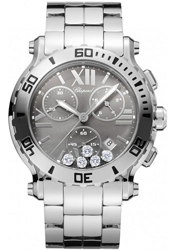 Chopard Watches - Happy Sport Chrono Stainless Steel - Style No: 288499-3008