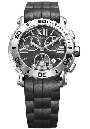 Chopard Watches - Happy Sport Chrono Stainless Steel - Style No: 288499-3011