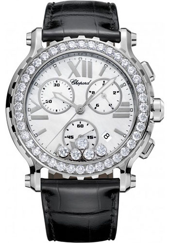 Chopard Watches - Happy Sport Chrono Stainless Steel - Style No: 288499-3021