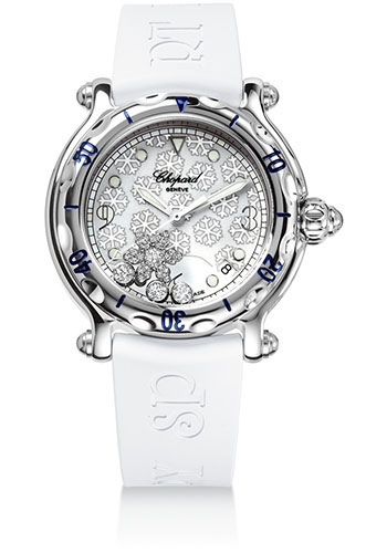 Chopard Watches - Happy Sport Happy Snowflake - Style No: 288948-3001