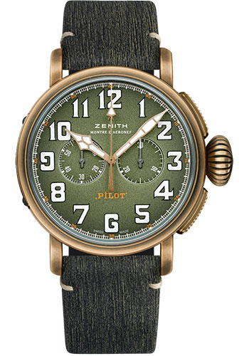 Zenith Watches - Pilot Type 20 Chronograph Adventure - Style No: 29.2430.4069/63.I001