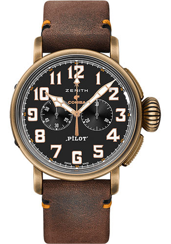 Zenith Watches - Pilot Type 20 Chronograph Cohiba Edition - Style No: 29.2432.4069/27.C794