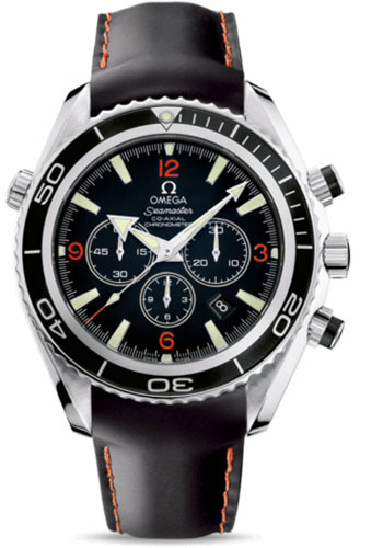 Omega Watches - Seamaster Planet Ocean 600 M Co-Axial Chronograph 45.5 mm - Stainless Steel - Rubber Strap - Style No: 2910.51.82