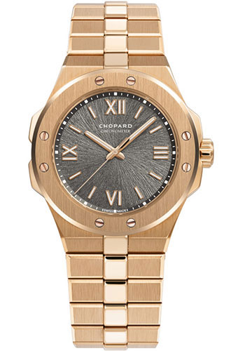 Chopard Watches - Alpine Eagle 36mm - Rose Gold - Style No: 295370-5001