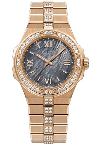 Chopard Watches - Alpine Eagle 36mm - Rose Gold - Style No: 295370-5003