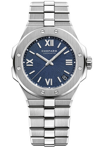 Chopard Watches - Alpine Eagle 41mm - Stainless Steel - Style No: 298600-3001