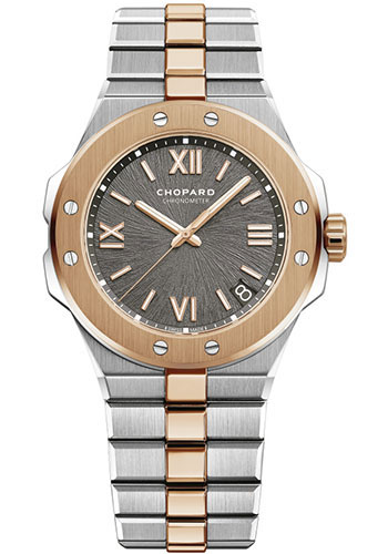 Chopard Watches - Alpine Eagle 41mm - Steel and Rose Gold - Style No: 298600-6001