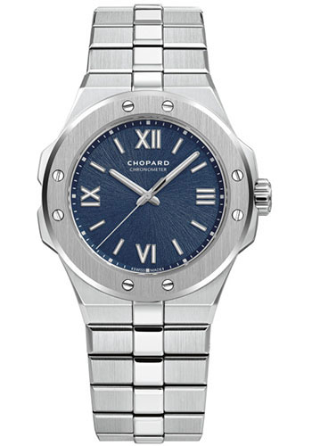 Chopard Watches - Alpine Eagle 36mm - Stainless Steel - Style No: 298601-3001
