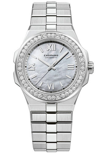 Chopard Watches - Alpine Eagle 36mm - Stainless Steel - Style No: 298601-3002