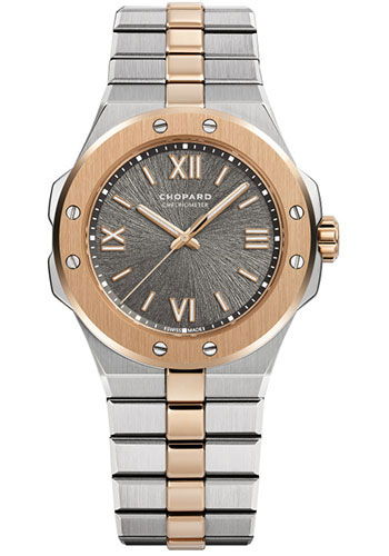 Chopard Watches - Alpine Eagle 36mm - Steel and Rose Gold - Style No: 298601-6001
