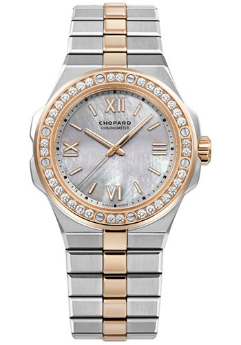 Chopard Watches - Alpine Eagle 36mm - Steel and Rose Gold - Style No: 298601-6002