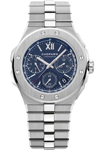 Chopard Watches - Alpine Eagle 44mm - Chrono - Stainless Steel - Style No: 298609-3001